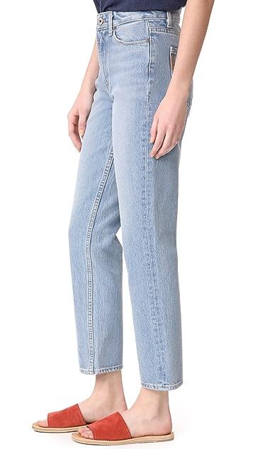 PAIGE Sarah Straight Leg Jeans
