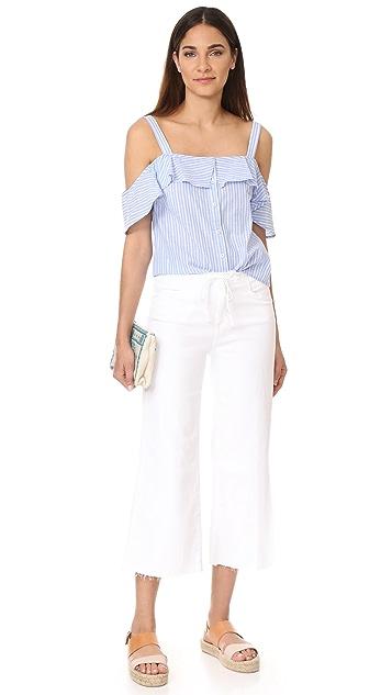 PAIGE Lori Crop Drawstring Pants