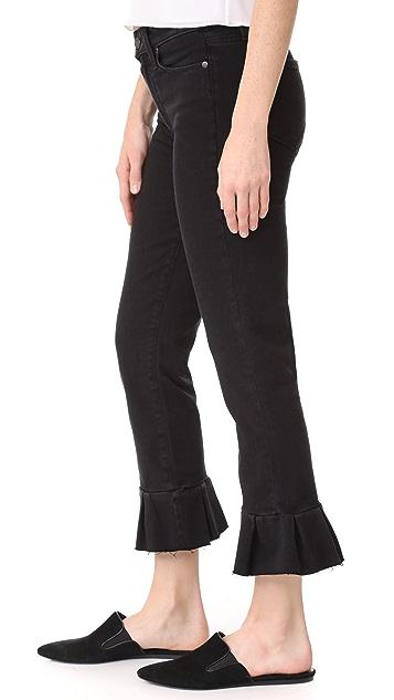 PAIGE Rafaela Jeans with Ruffle Hem