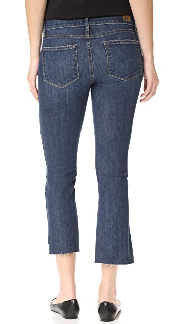 PAIGE Maternity Riley Slim Crop Flare Jeans