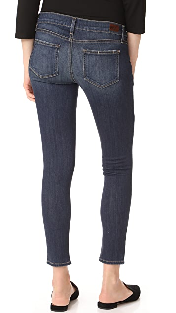 PAIGE Maternity Verdugo Ankle Skinny Jeans