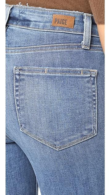 PAIGE Hoxton Transcend  Cropped Jeans