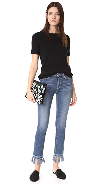 PAIGE Jacqueline Straight Leg Jeans
