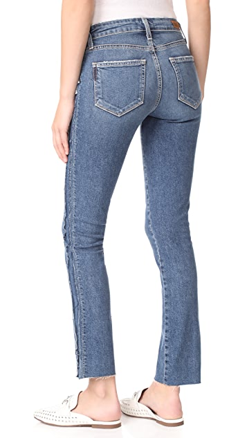 PAIGE Julia Straight Raw Tux Jeans
