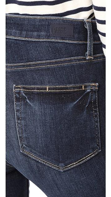 PAIGE Hoxton Transcend Ankle Jeans