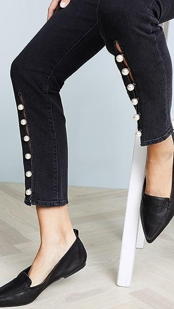 PAIGE Julie Straight Leg Jeans