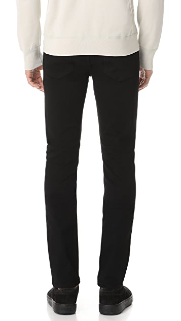 PAIGE Lennox Black Shadow Jeans