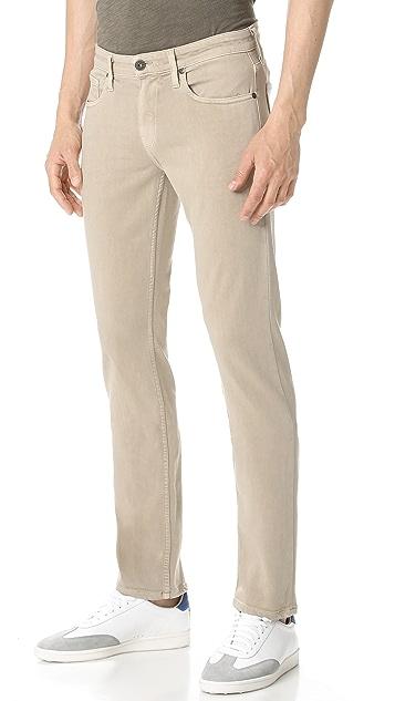 PAIGE Federal Pale Oak Jeans