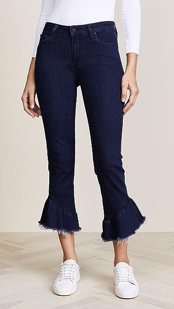 PAIGE Flora Frayed Hem Jeans