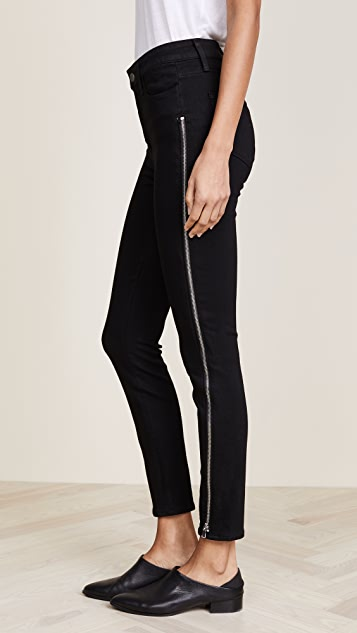 PAIGE Transcend Margot Ankle Zipper Jeans