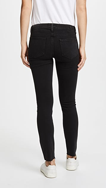 PAIGE Embroidered Verdugo Ankle Jeans