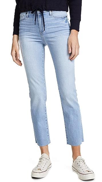 PAIGE Hoxton Straight Leg Jeans