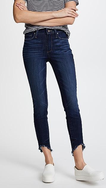 PAIGE Hoxton Ankle Jeans - Blue