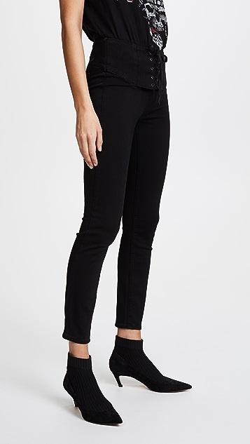 PAIGE Transcend Carrie Corset Jeans