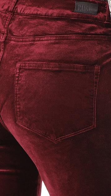 PAIGE Hoxton Velveteen Skinny Pants