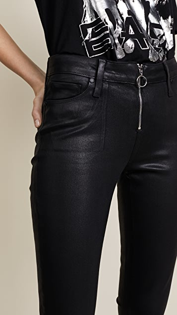 PAIGE Peg Coated Jeans