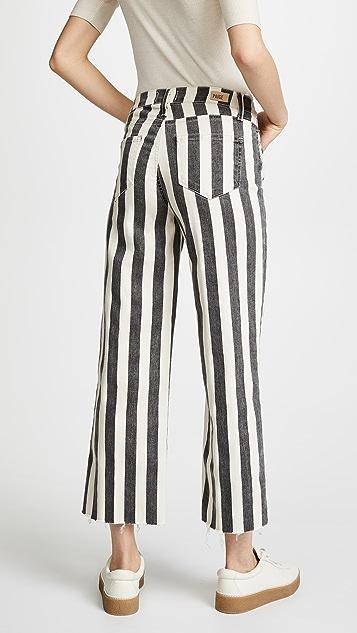 PAIGE Nellie Culotte Jeans