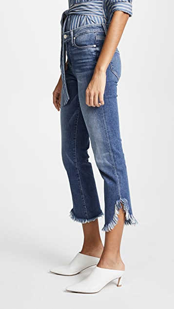 PAIGE Hoxton Jeans with Straight Cut