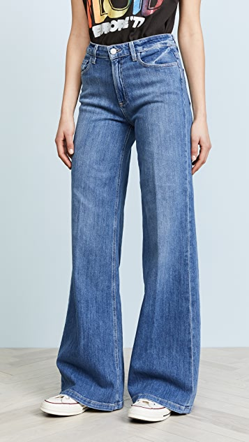 PAIGE Sutton Wide Leg Jeans
