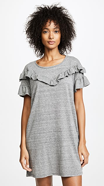 PAIGE Adalie Dress - Heather Grey