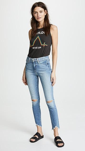 PAIGE Hoxton Ankle Peg Skinny Jeans
