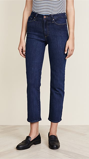 PAIGE Margot High Rise Straight Jeans