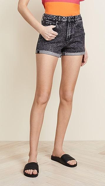 PAIGE Sarah High Rise Shorts