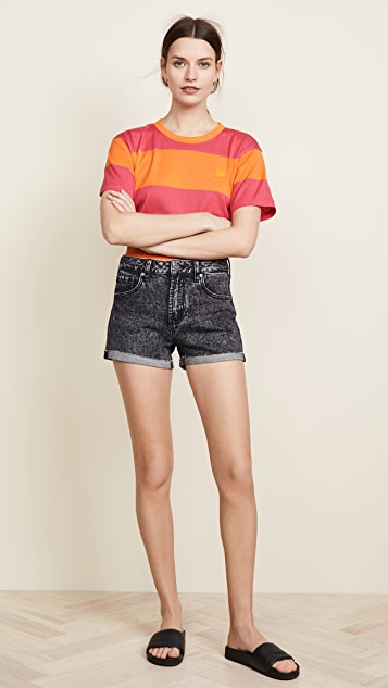 PAIGE Sarah High Rise Shorts