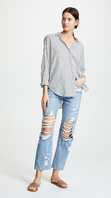 PAIGE Noella Straight Leg Jeans