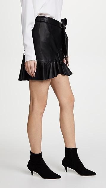 ... PAIGE Nivelle Skirt ...