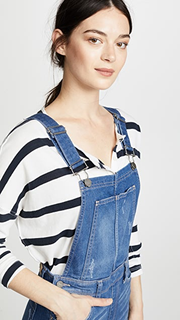 PAIGE Nellie Overalls