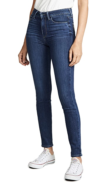 PAIGE Hoxton Transcend Ultra Skinny Jeans