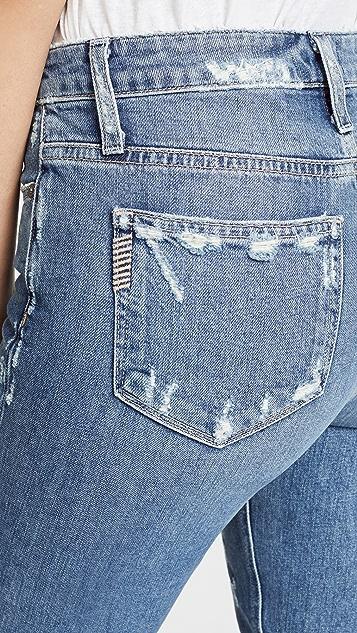 PAIGE Vintage Hoxton Ankle Peg Rigid Jeans