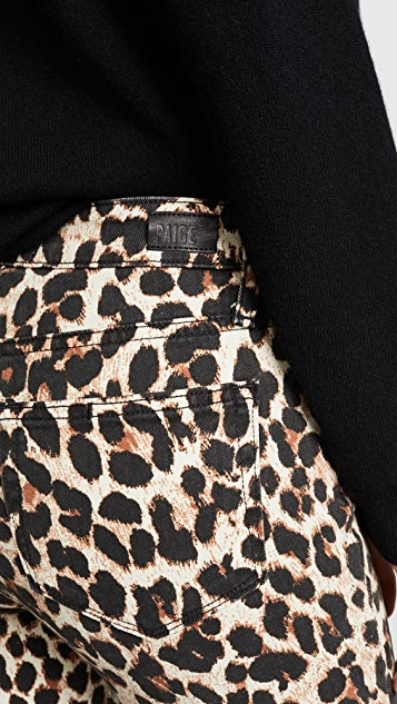 PAIGE Прямые джинсы до щиколотки Hoxton