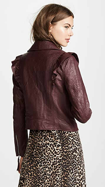 PAIGE Annika Leather Jacket
