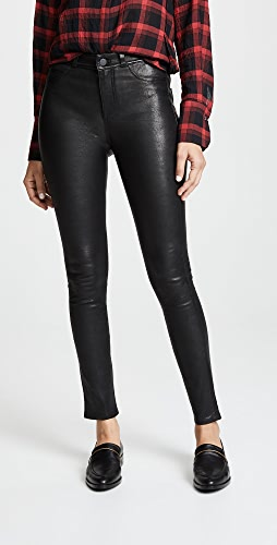 PAIGE - Hoxton Stretch Leather Pants