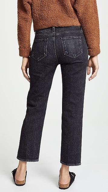 PAIGE Noelle Straight Leg Jeans