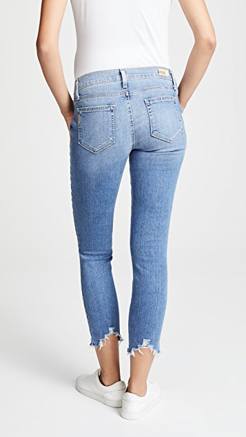 PAIGE Verdugo Maternity Crop Jeans