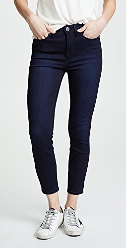 PAIGE - Margot High Rise Crop Skinny Jeans
