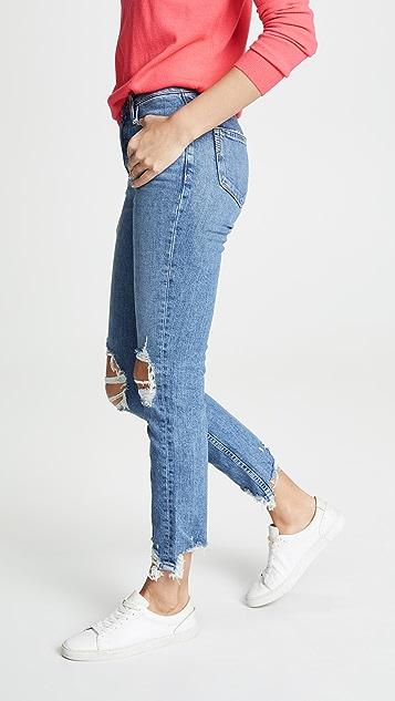 PAIGE Vintage Hoxton Ankle Peg Jeans