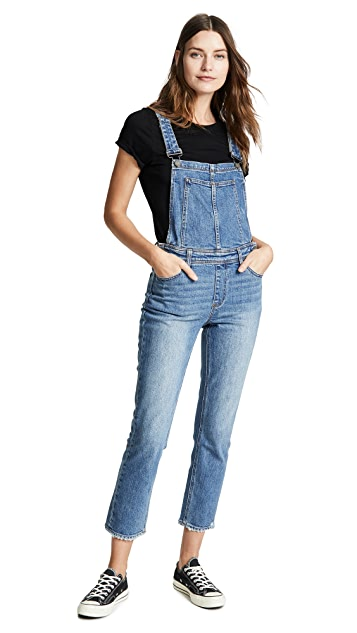 PAIGE High Rise Sierra Overalls