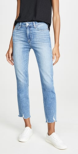 PAIGE - Cindy Jeans With Destroyed Hem