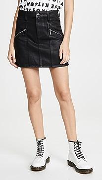 Aideen Skirt With Zips