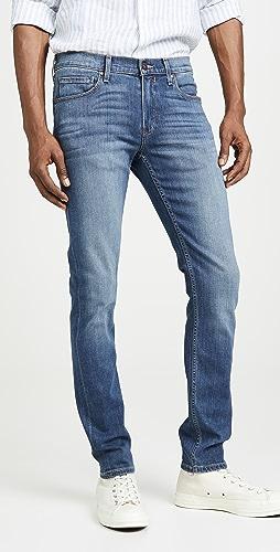 PAIGE - Croft Skinny Jeans in Birch Wash