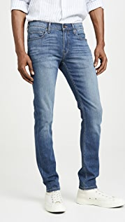 PAIGE Croft Skinny Jeans in Birch Wash