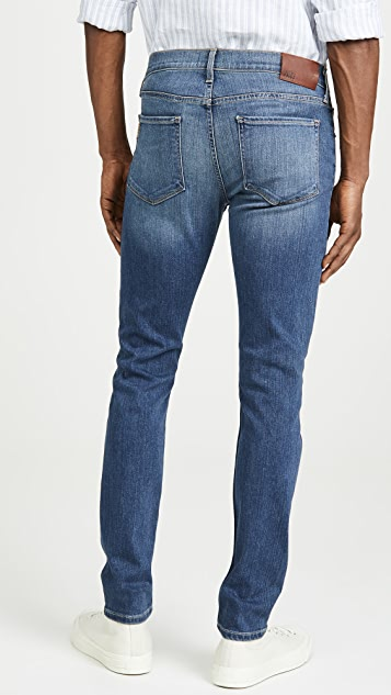 PAIGE Croft Skinny Jeans in Birch Wash