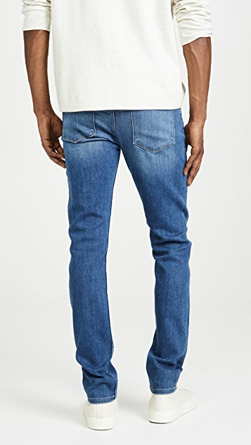 PAIGE Lennox Slim Jeans in Mullholland Wash