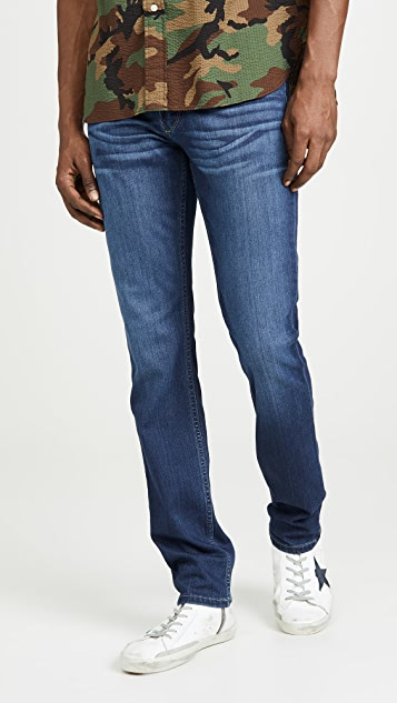 PAIGE Lennox Slim Jeans in Leo Wash