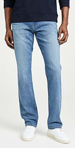 PAIGE - Normandie Straight Jeans in Cartwright Wash