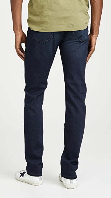 PAIGE Federal Slim Jeans in Russ Wash